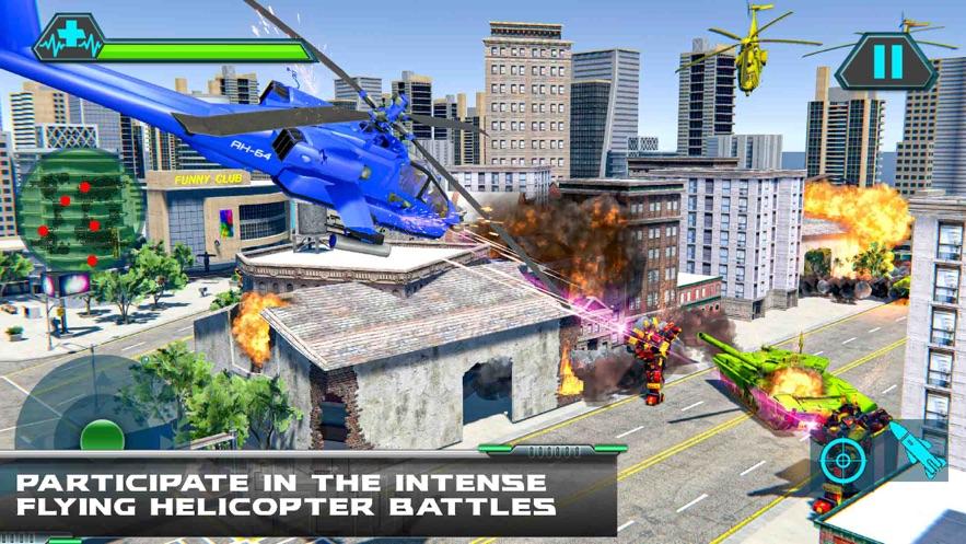 直升机变换坦克战争游戏安卓官网版图片1