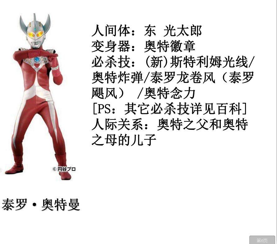 奥特曼日本紧身制服PDF(完整版)套路图免费分享图2: