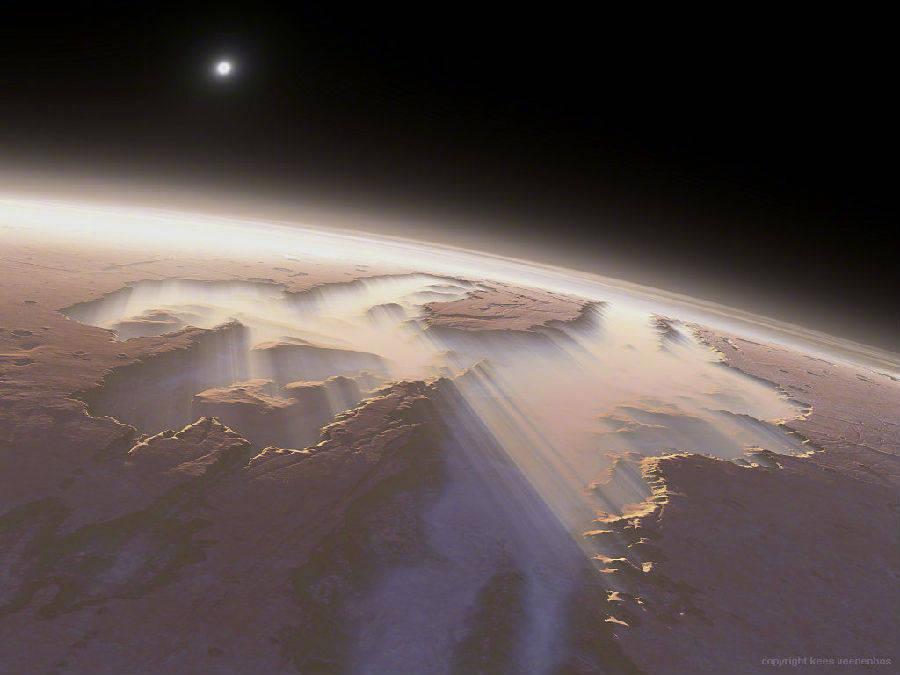 18亿像素火星全景照片高清版分享图2: