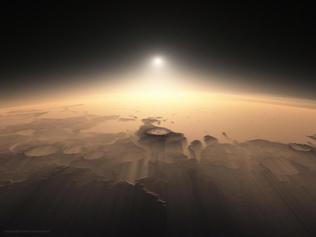 18亿像素火星全景照片高清版分享图1: