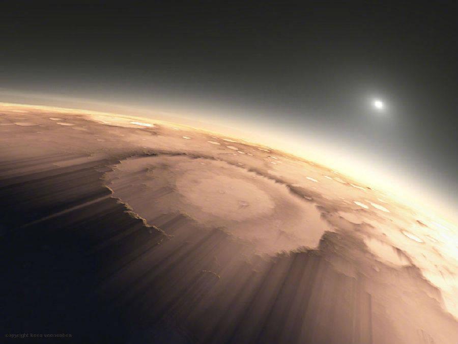 18亿像素火星全景照片高清版分享图片2