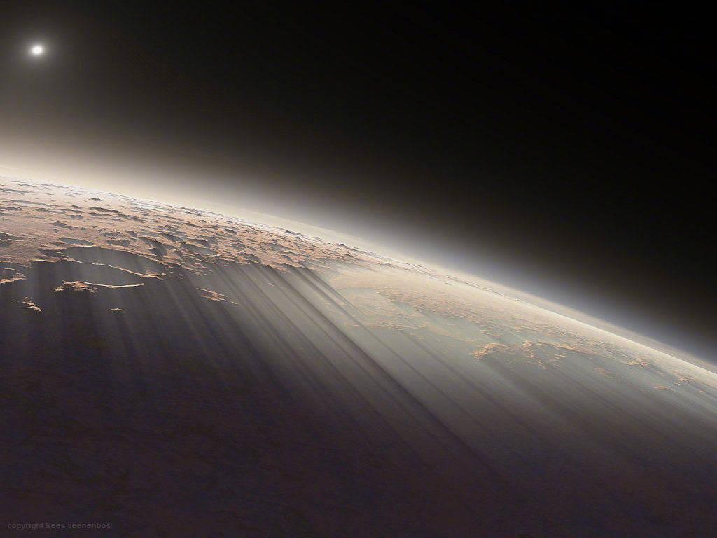 18亿像素火星全景照片高清版分享图片5
