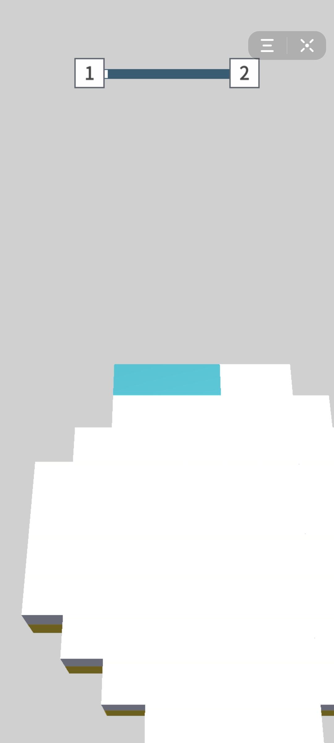 抖音小程序立体折纸方块翻翻乐游戏官方版图1: