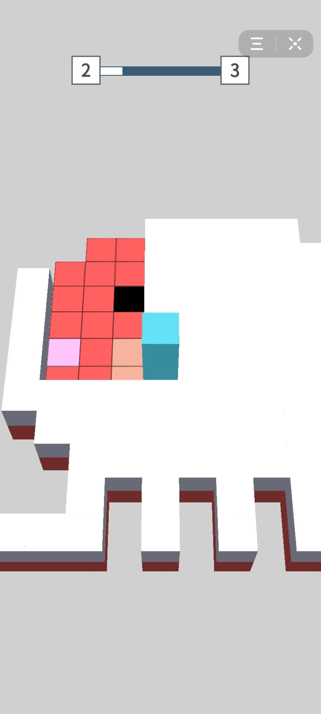 抖音方块翻翻乐3D小程序游戏最新版图2: