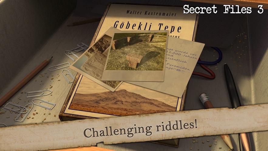 秘密档案3中文版手机版游戏下载(Secret Files 3)图2: