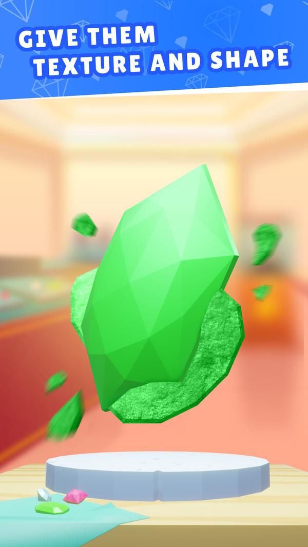 珠宝切割模拟器游戏中文手机版图1: