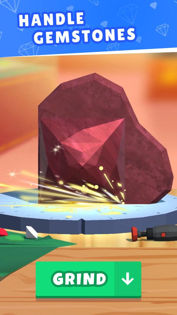 珠宝切割模拟器游戏中文手机版图3: