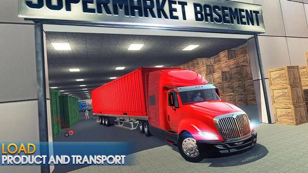 超市卡车运输无限金币最新内购破解版图片1
