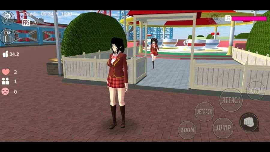 樱花校园模拟器老版本下载安装中文苹果版图2: