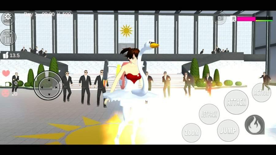 女生校园模拟器萝莉塔汉化免费破解版图3: