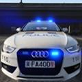 中國警察奧迪警車模擬器遊戲