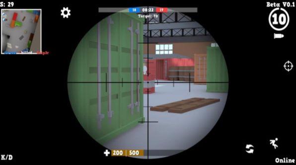 人类射击战场游戏官方最新版图1: