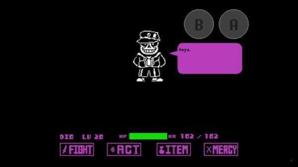 空条承太郎sans模拟器安卓版游戏下载图2: