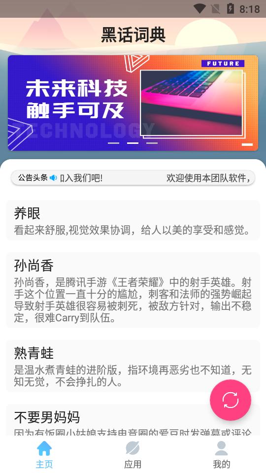黑话词典app安卓版图2: