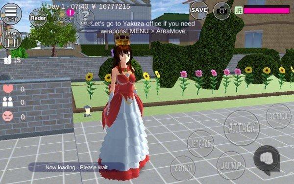 樱花校园模拟器更新蝴蝶结裙子最新版图1: