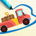 画线小卡车快乐启蒙游戏安卓版下载 v1.0