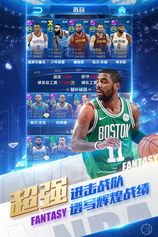 NBA范特西手游官网苹果版图2:
