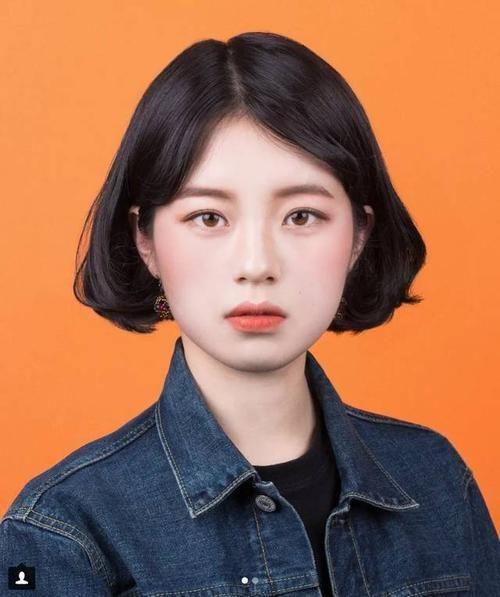 韩国证件照素材抖音 韩国证件照高清无水印女抖音模板分享[多图]