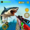 鲨鱼狩猎动物射击游戏