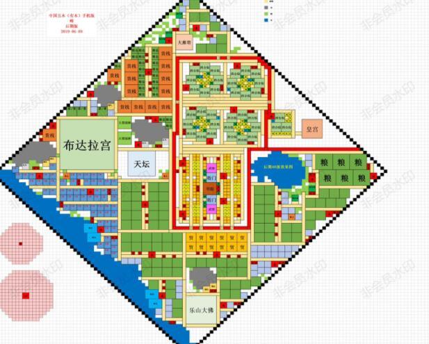 模拟帝国中国布局图 华夏前中后期布局攻略[多图]