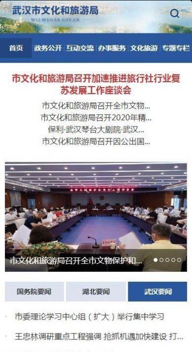 武汉市文化和旅游局官方预约通道入口图3: