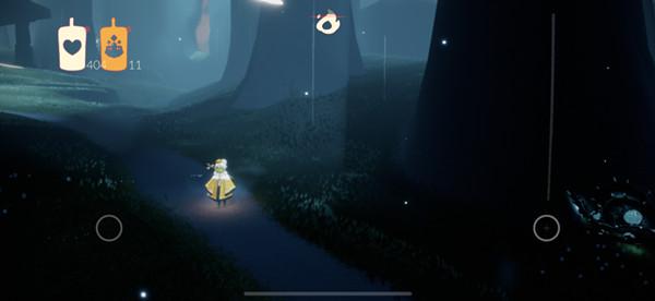 光遇荧光小菇位置大全 荧光小菇旁恢复能量任务详解[多图]图片3