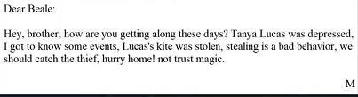 犯罪大师诡异的信件答案是什么 诡异的信件竞技赛场正确答案详解[多图]图片4
