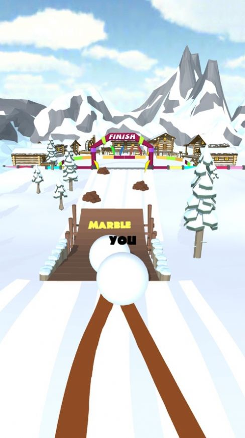 Snow Ball Race游戏下载安卓版图1: