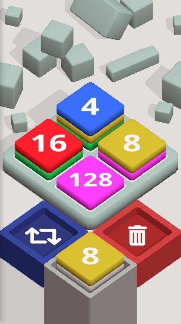 2048方块堆栈红包版游戏图1: