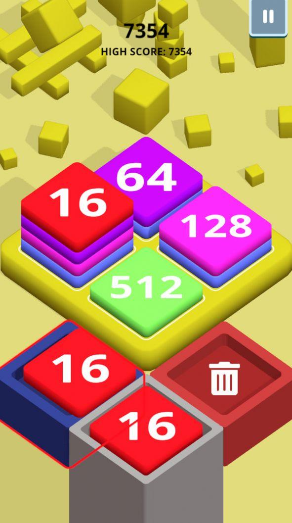 2048方块堆栈红包版游戏图片1