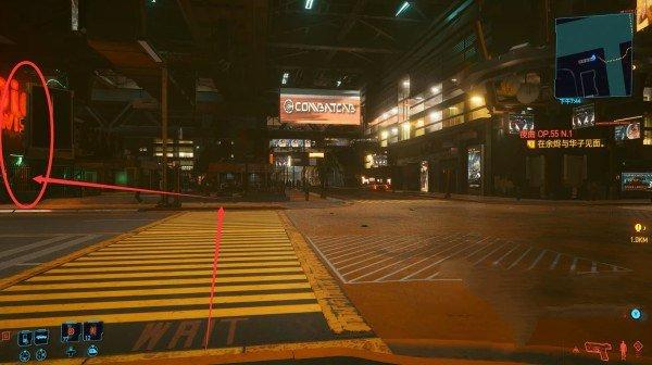 赛博朋克2077高情商的XX转转转酒吧在哪 高情商的XX转转转酒吧位置解锁详解[多图]