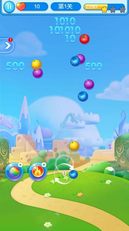 开心水果泡泡安卓版游戏图1: