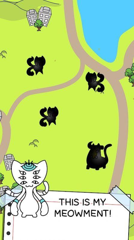猫咪进化合并游戏最新安卓版图1: