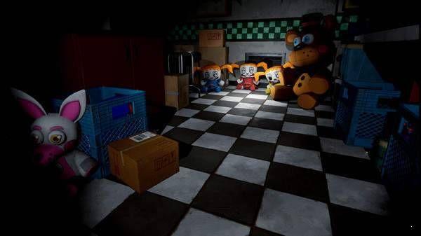 玩具熊的噩梦马戏团游戏手机版图2: