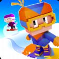 像素方块滑雪无限金币内购破解版 v1.0