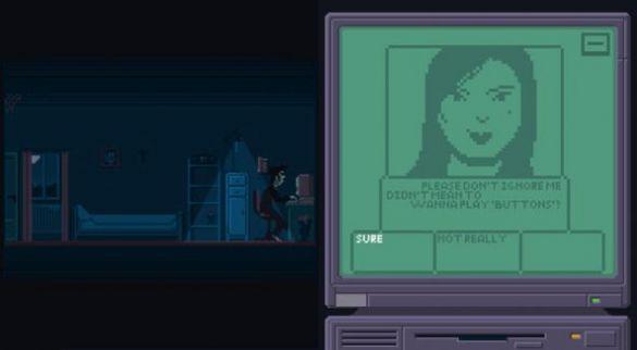 别和陌生人聊天游戏攻略剧情结局版图1: