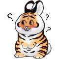 最近很火的老虎表情包