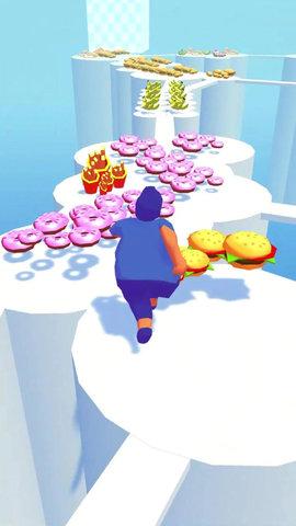 抖音胖子跑步游戏安卓最新版图1: