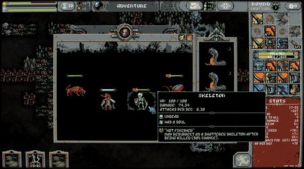 循环英雄Loop Hero死灵法师解锁完整版图2: