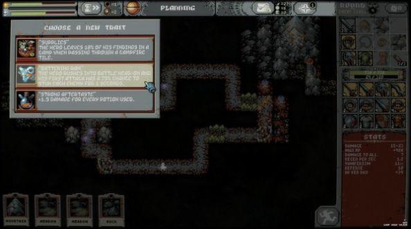 循环英雄Loop Hero死灵法师解锁完整版图1: