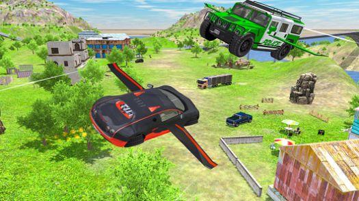 飞行车极端模拟器游戏IOS最新版图1: