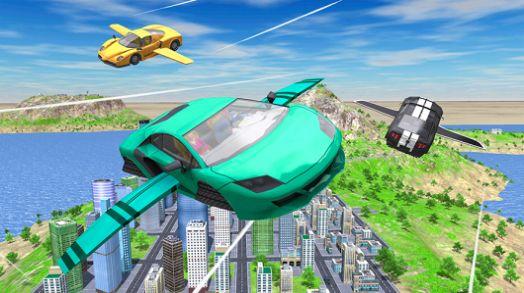 飞行车极端模拟器游戏IOS最新版图2: