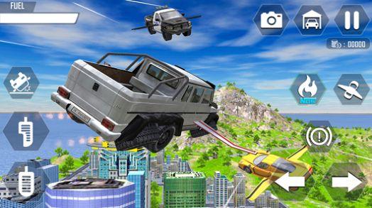 飞行车极端模拟器游戏IOS最新版图3: