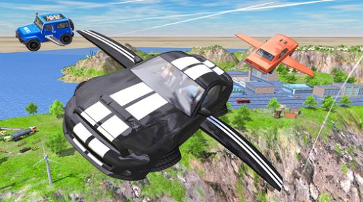 飞行车极端模拟器游戏IOS最新版图片2
