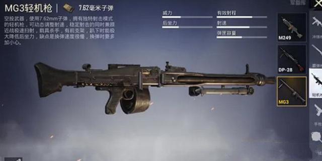 和平精英MG3轻机枪在哪 MG3轻机枪刷新位置详解[多图]