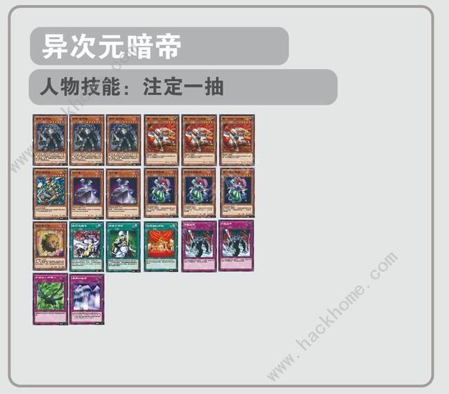 游戏王决斗链接异次元暗帝卡组怎么搭配 异次元暗帝卡组搭配攻略[多图]图片1
