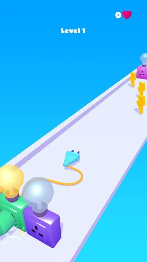 充电线跑酷游戏官方IOS最新版图3: