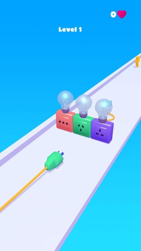 充电线跑酷游戏官方IOS最新版图片1