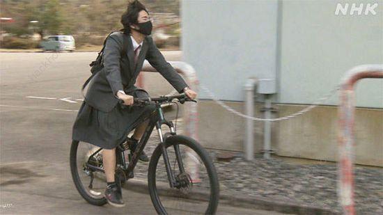 猛男变软妹 微博日本男生可以穿裙子校服咯[多图]图片6