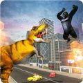 恐龙怪物入侵城市游戏安卓手机版 v1.0